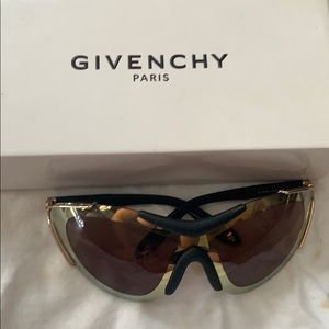 Givenchy gold sunglasses